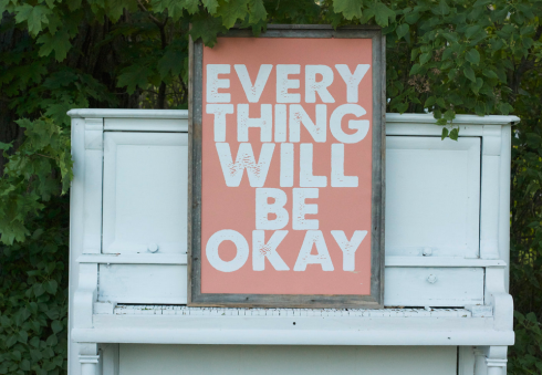 Everything Will Be Okay Screen Print