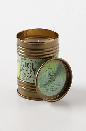 Avocado Mint Candle from Anthropologie