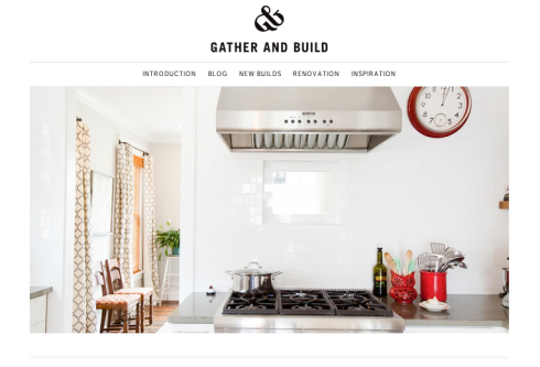 Gather & Build Website